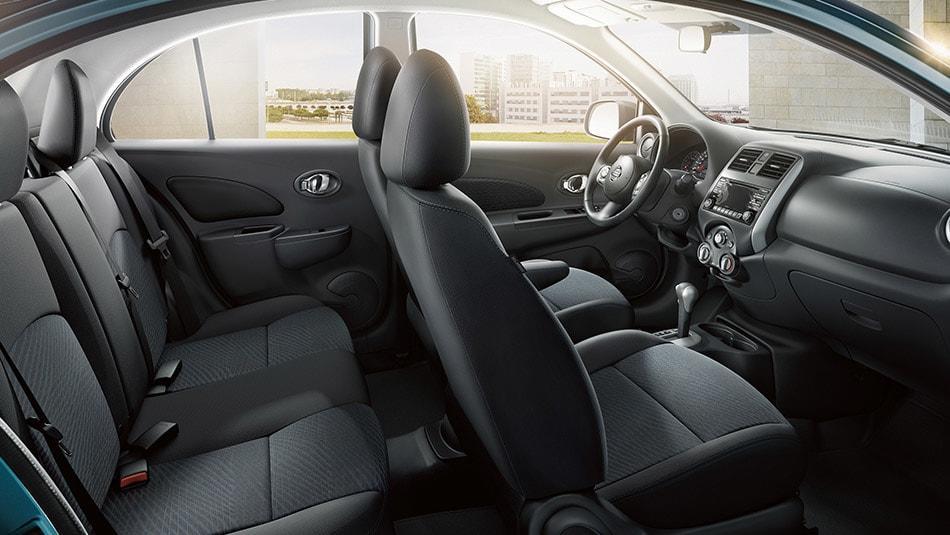 2015 Nissan Micra KROM Interior Seating