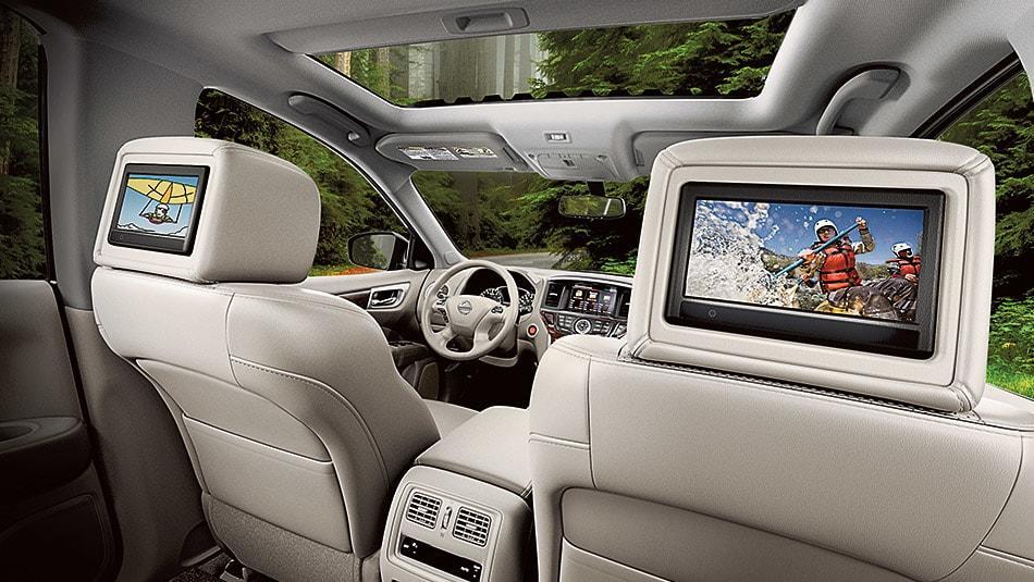 2015 Nissan Pathfinder Interior Seating
