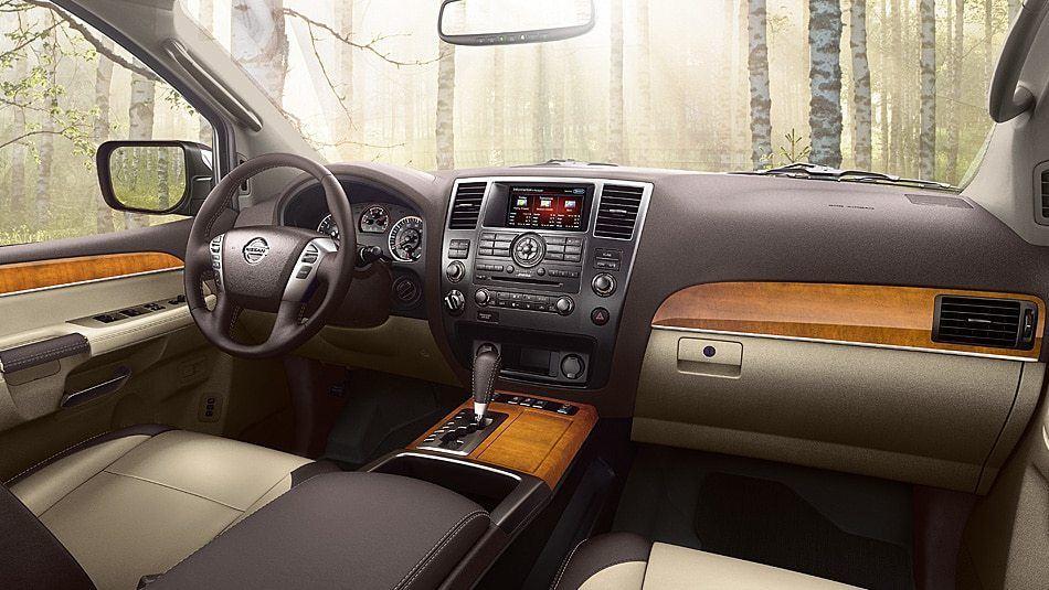 2014 Nissan Armada Interior Dashboard