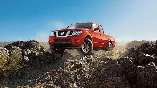 2015 Nissan Frontier Pro-4X King Cab Exterior Front
