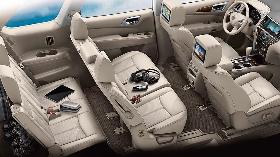 2014 Nissan Pathfinder Hybrid Platinum Premium Interior
