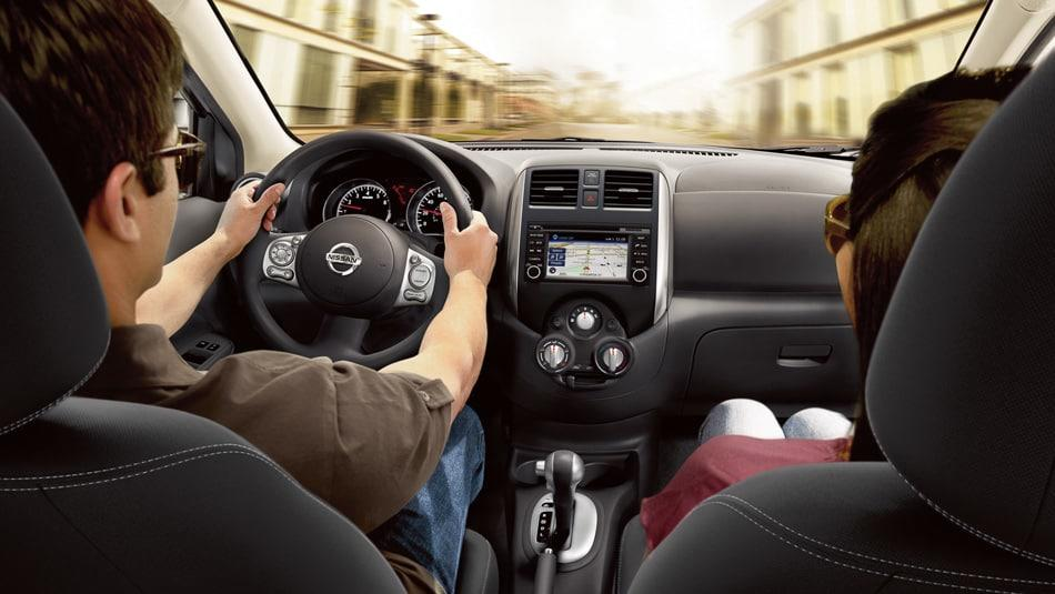 2014 Nissan Versa Sedan Interior Dashboard