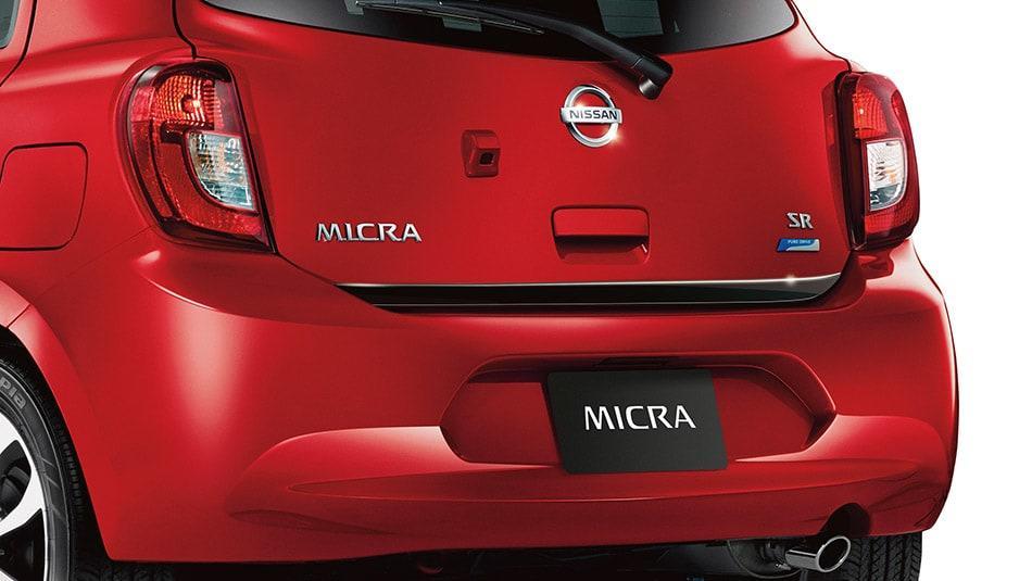 2015 Nissan Micra Exterior Rear End