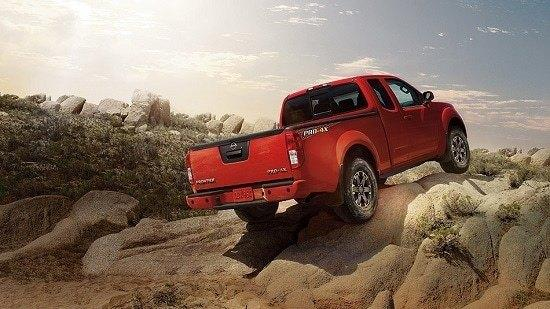 2015 Nissan Frontier Pro-4X King Cab Exterior Rear