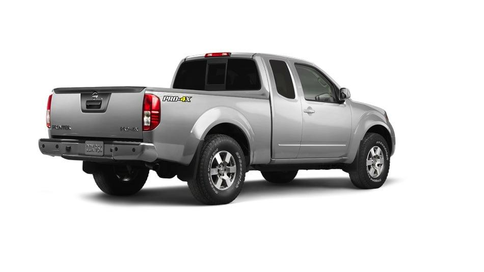 2014 Nissan Frontier Exterior Rear View