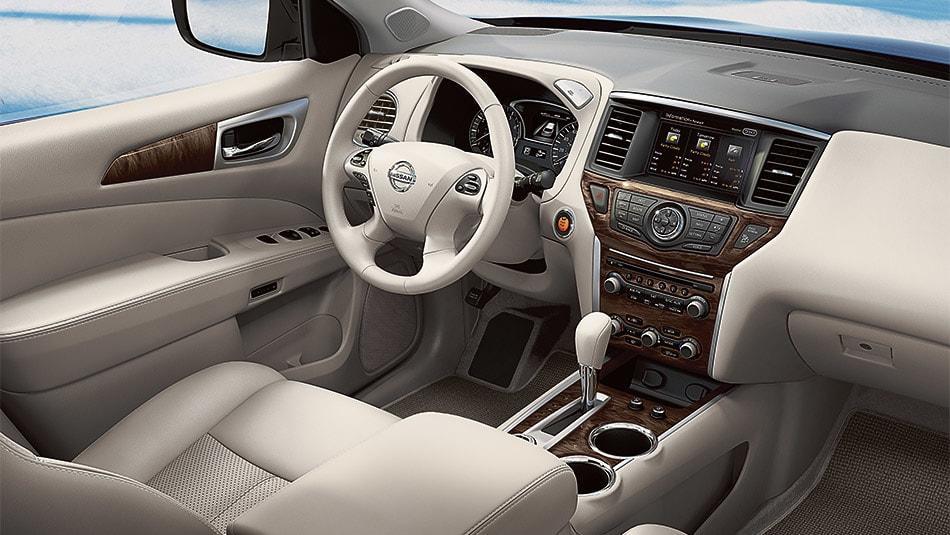 2015 Nissan Pathfinder Interior Dashboard