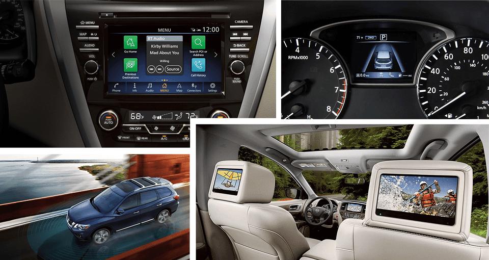 2020 Nissan pathfinder Tech and infotainment