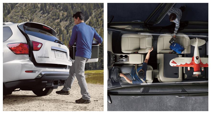 2019 Nissan Pathfinder Storage and Cargo